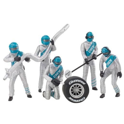 "Carrera 21133 Set of figures, mechanics ""silver"""