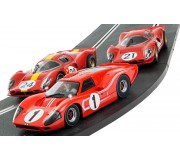 Scalextric C3892A  Legends 1967 Le Mans Triple Pack - Limited Edition
