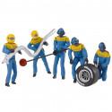 "Carrera 21132 Set of figures, mechanics ""blue"""