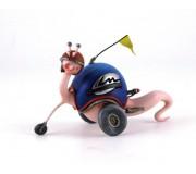 LE MANS miniatures Figure Lee Snail Vintage Shell, LE MANS miniatures's mascot