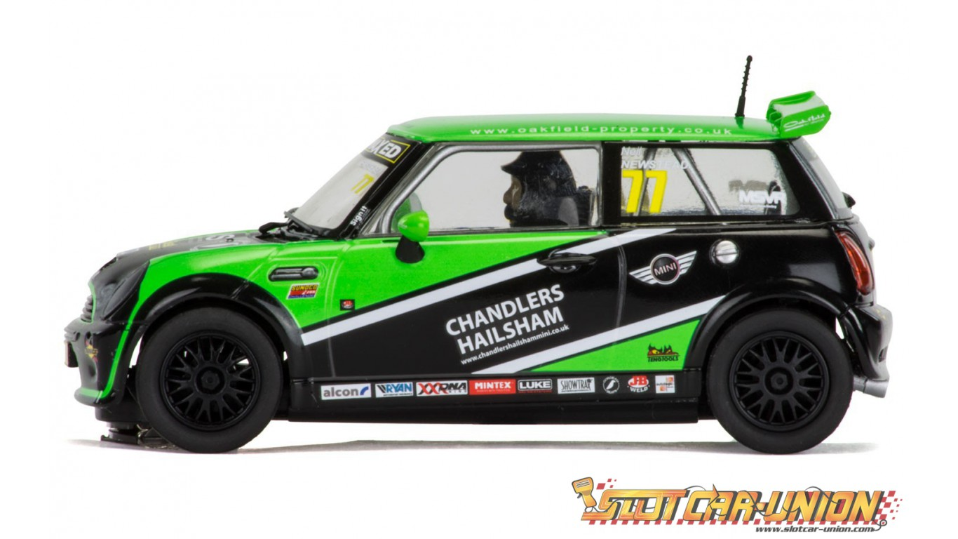 scalextric c3743a 60th anniversary special edition packaging mini cooper s mini challenge. Black Bedroom Furniture Sets. Home Design Ideas