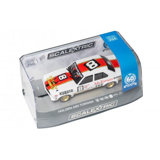 Scalextric C3758A 60th Anniversary Special Edition Packaging - Holden A9X Torana