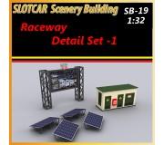 MHS Model SB-19 Raceway Detail Set -1