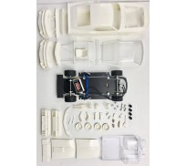 BRM MUSTANG BOSS 302 1969-70 - Full White Kit - preassembled chassis