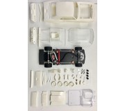 BRM CAMARO Z28 1969 - Full White Kit - preassembled chassis