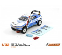 "Scaleauto SC-6120 Peugeot 405 T16 Grand Raid ""Winner"" Paris Dakar 1989 ""Africa Legends Collection"" n. 204 & n.206"