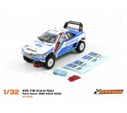 "Scaleauto SC-6120 Peugeot 405 T16 Grand Raid ""Winner"" Paris Dakar 1989 ""Africa Legends Collection"" n. 204 & n.206"