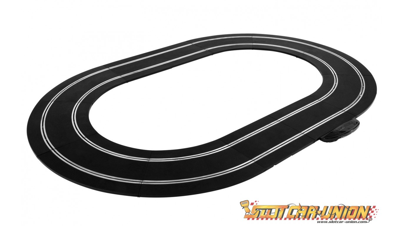 how to set up scalextric track