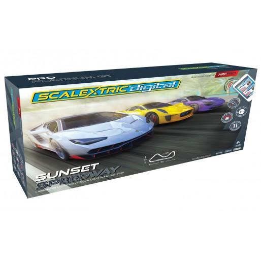 Scalextric C1388 Coffret ARC Pro Sunset Speedway