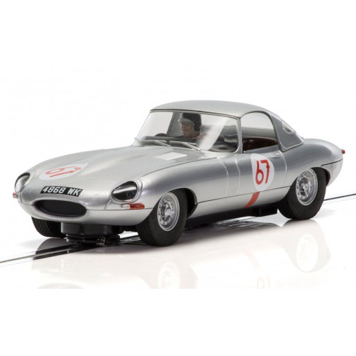 Scalextric C3952 Jaguar E-Type - Nurburgring 1,000km 1963