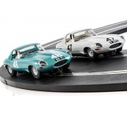 Scalextric C3898A Legends Jaguar E-type 1963 International Trophy Twin Pack - Limited Edition