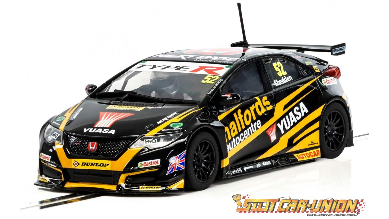 scalextric c3919 honda civic type r ngtc btcc 2017. Black Bedroom Furniture Sets. Home Design Ideas