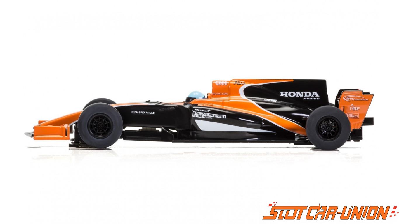 Mclaren Kit Car >> Scalextric C3956 McLaren Honda MCL32 Car - Alonso 2017 - Slot Car-Union