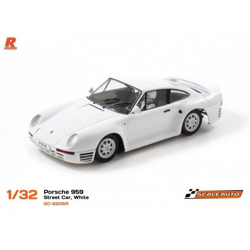 Scaleauto SC-6206R Porsche 959 Street Car White