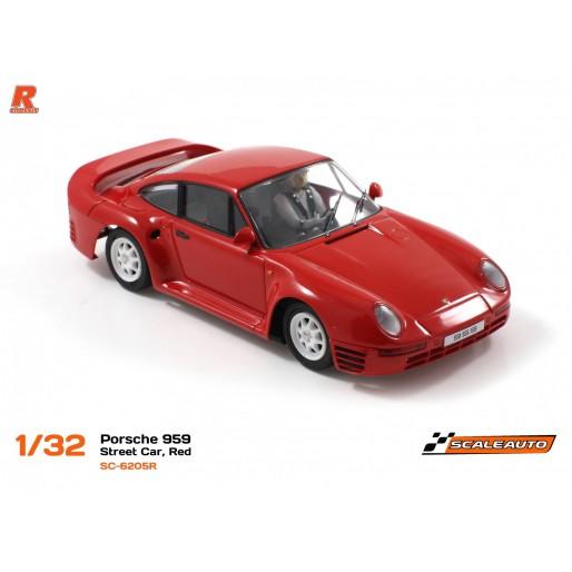 Scaleauto SC-6205R Porsche 959 Street Car Red