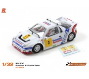 Scaleauto SC-6185R Ford RS 200 Purolator n.3 Carlos Sainz