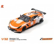 Scaleauto SC-6179D American C7-R Cup Edition, Orange and White