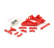 Scaleauto SC-6528C Long Can. RT3 anglewinder motor mount 0,5 mm offset. Wide axle support