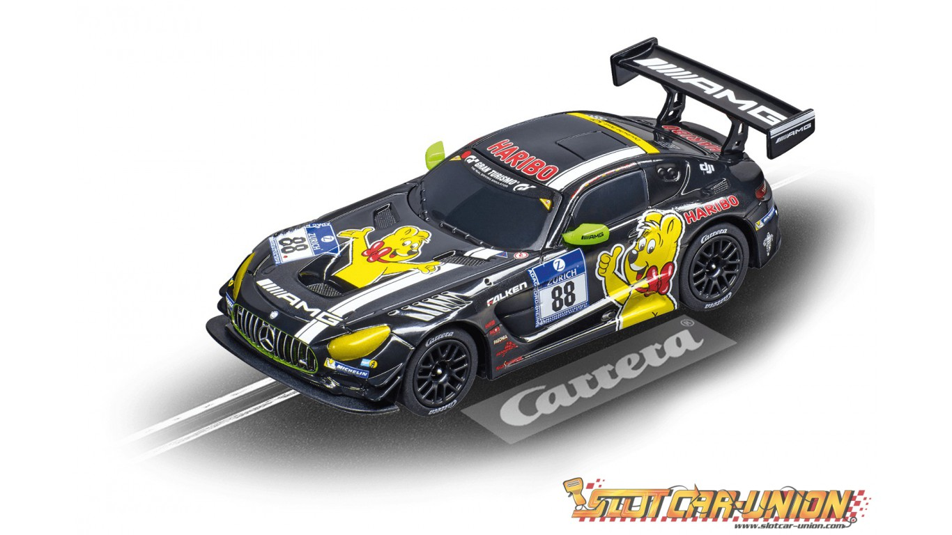 carrera digital 143 41409 mercedes amg gt3 haribo. Black Bedroom Furniture Sets. Home Design Ideas
