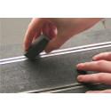 Hi-Spec Double-Decker Double Pack Gomme Nettoyante Rail