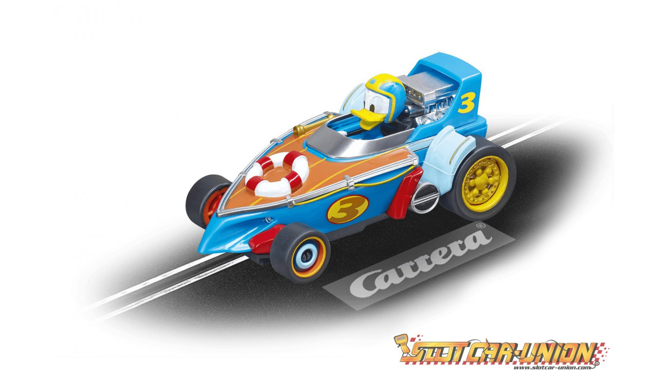 Carrera First 63013 Mickey and the Roadster Racers