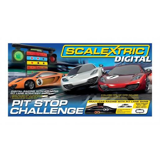 Scalextric Digital C1296 Coffret Pit Stop Challenge