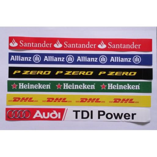 Slot Track Scenics LL Long Logos x6