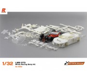 Scaleauto SC-6162 LMS GT3 White Racing Body Kit