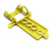 NSR 1274 Support moteur Sidewinder EVO EXTRA LIGHT (yellow) -30% weight pour NSR Classic Series