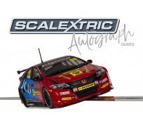 Scalextric C3860AE Autograph Series BTCC Honda Civic Type R - Jeff Smith - Special Edition