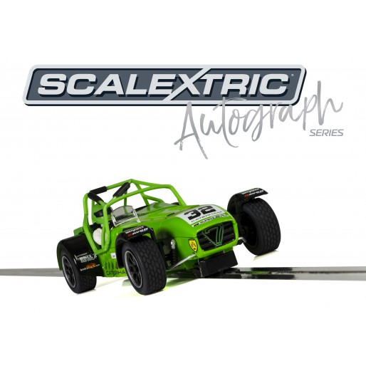 Scalextric C3871AE Autograph Series Caterham Superlight – Lee Wiggins - Special Edition