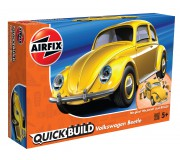 Airfix QUICK BUILD VW Beetle yellow