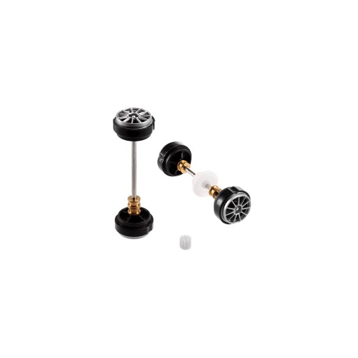 Carrera 89809 Front and rear Axle for AMG-Mercedes C-Coupe DTM