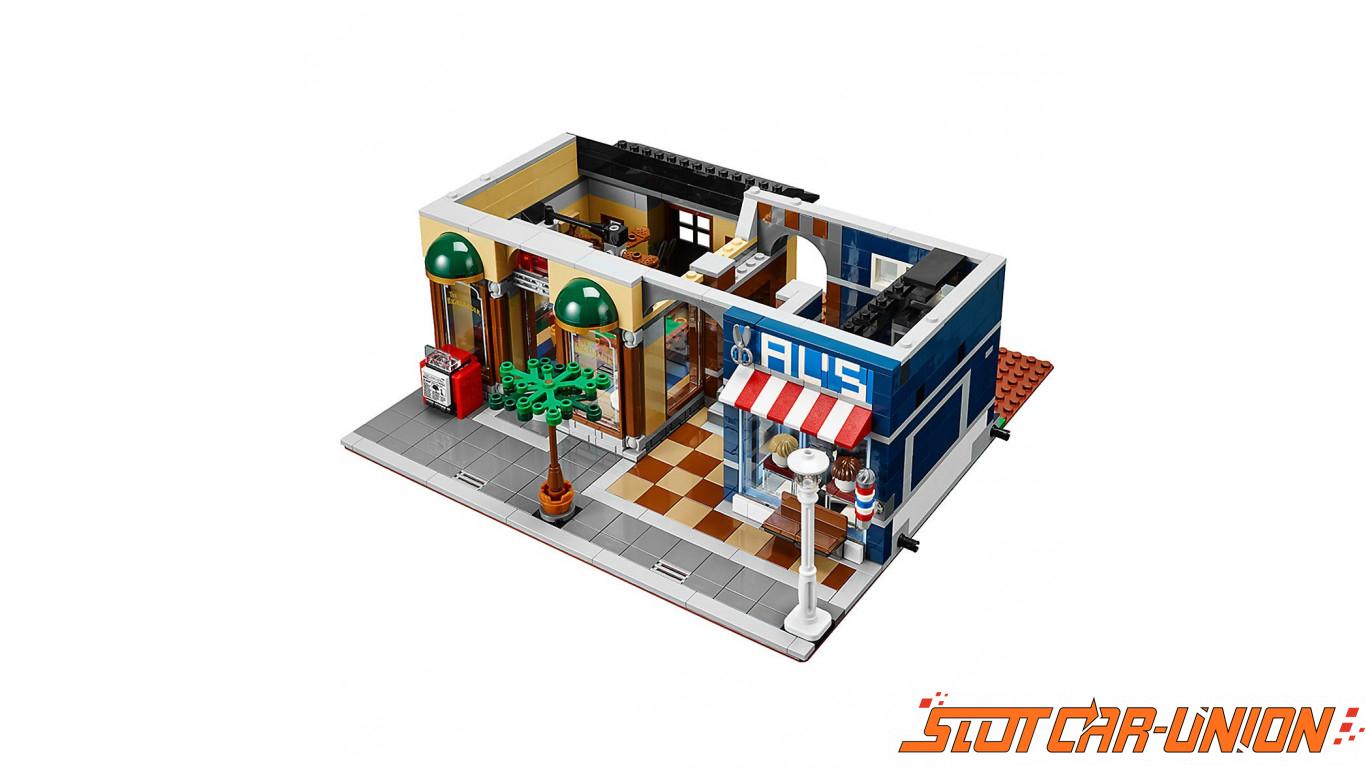 Lego le bureau du détective slot car union