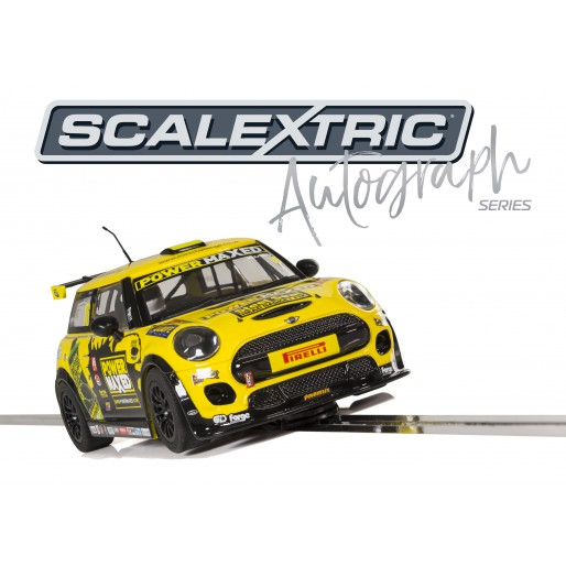 Scalextric C3742AE Autograph Series MINI Cooper F56 - Harry Vaulkhard - Special Edition