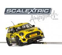 Scalextric C3742AE Autograph Series MINI Cooper F56 - Harry Vaulkhard - Special Edition