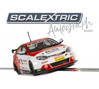 Scalextric C3863AE Autograph Series BTCC MG6 – Josh Cook - Special Edition