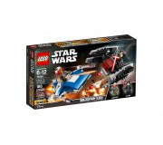 LEGO 75196 A-Wing™ vs. TIE Silencer™ Microfighters