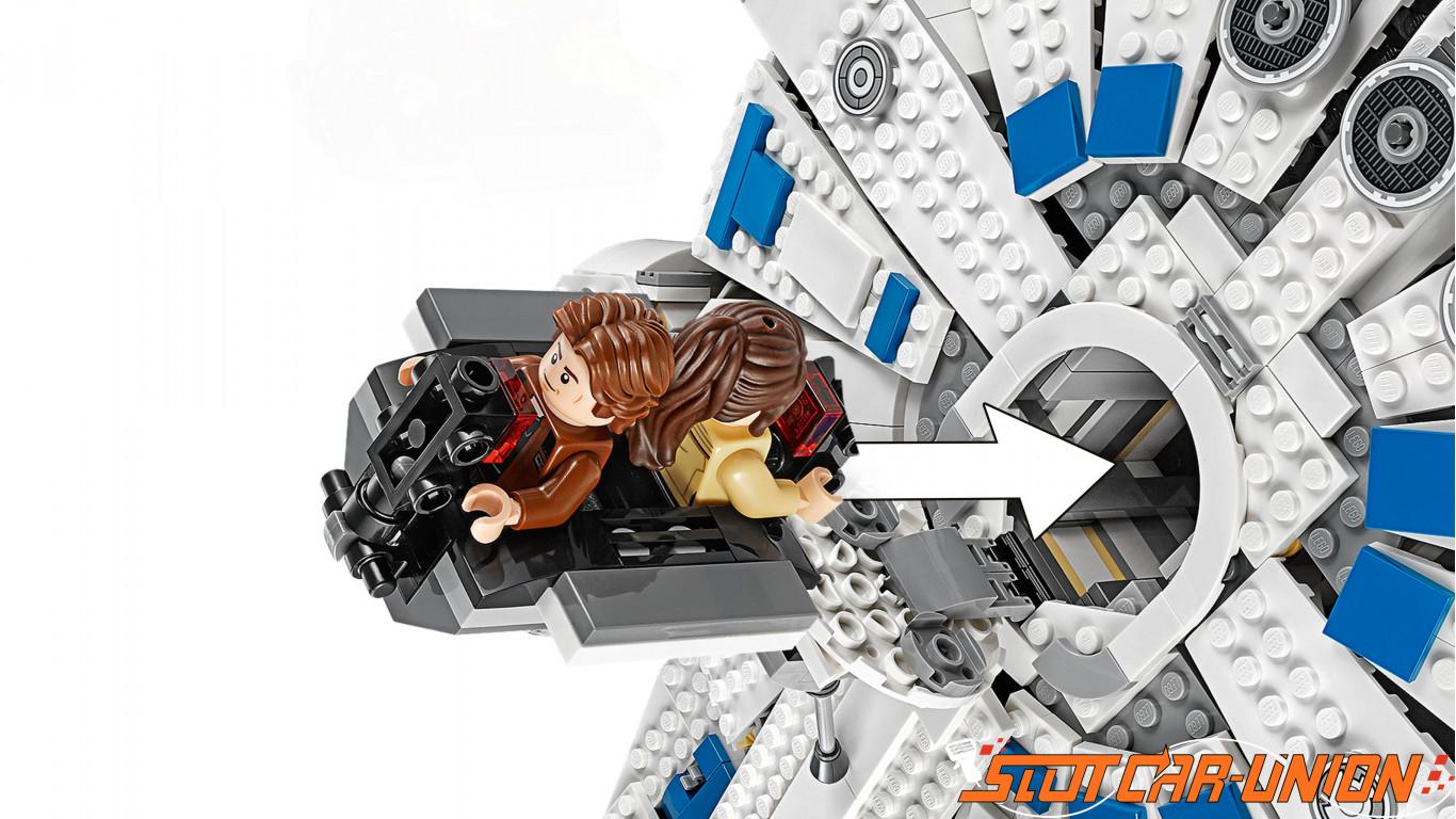 LEGO 75212 Kessel Run Millennium Falcon - Slot Car-Union