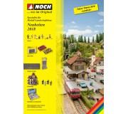 NOCH 71730 Leaflet of New Items 2018 German