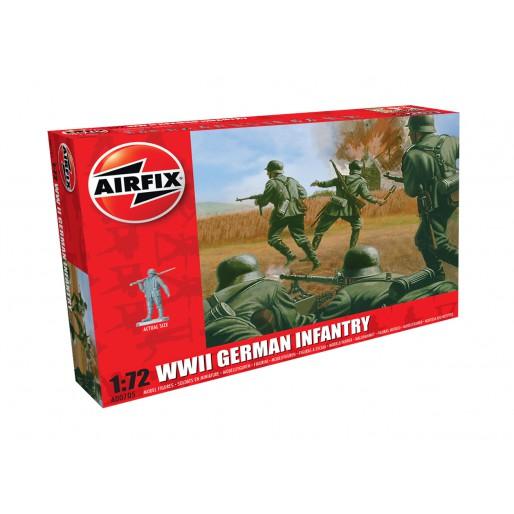 Airfix WWII Infanterie Allemande 1:72