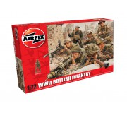 Airfix WWII British Infantry N. Europe 1:72