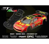 Black Arrow BABCKIT02A Ferrari GT3 Italia Kit MOMO Red
