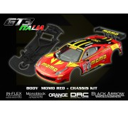 Black Arrow BABCKIT02A Ferrari GT3 Italia Kit MOMO Red
