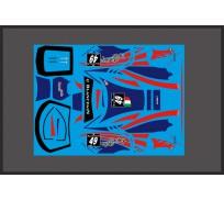 Black Arrow BAWD02C Feuille de Décalcomanie GT3 Italia STANLEY