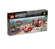 LEGO 75889 Le stand Ferrari