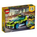LEGO 31074 La voiture de rallye
