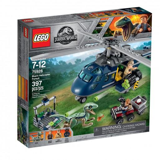 LEGO 75928 La poursuite en hélicoptère de Blue