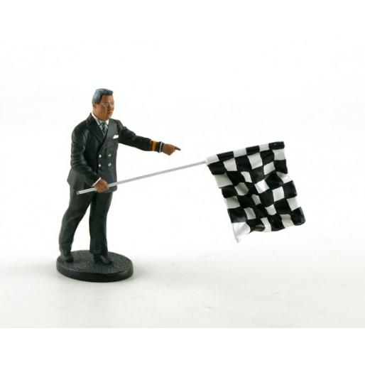LE MANS miniatures Figurine Léon, directeur de course