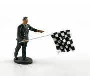LE MANS miniatures Figure Leon, race director